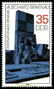 EBS East Germany DDR 1982 - Auschwitz-Birkenau Memorial - Michel 2735 MNH**