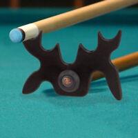 1pc cabeza de alce Piscina Billar Snooker Taco de resto Bridge 9 Slip-on Araña