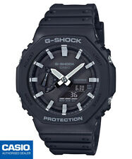 CASIO GA-2100-1AER⎪GA-2100-1A⎪ORIGINAL⎪G-SHOCK Classic⎪NEGRO⎪CARBON CORE GUARD