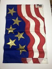 New listing New! Star Spangles Decorative Usa Garden flag Banner 28� X 44� 4th July