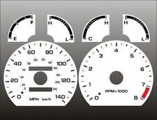 1993-1997 Ford Probe GT Dash Cluster White Face Gauges 93-97