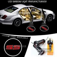 2x 3D Logo Car Door Laser LED Projector Ground Shadow Light