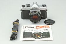 Pentax K1000 35mm SLR Film Camera w/ Pentax A SMC 50mm f2 Lens