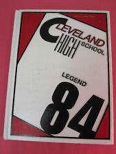 LEGEND 1984 Cleveland High School YEARBOOK ANNUAL Portland, Oregon Vol 34
