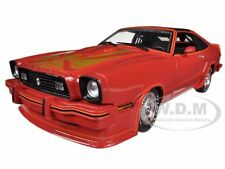 1978 FORD MUSTANG II KING COBRA RED W/T TOPS 1/18 MODEL CAR BY GREENLIGHT 12879