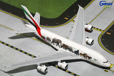 GEMINI JETS EMIRATES WILDLIFE #3  AIRBUS A380-800 1:400 DIE-CAST MODEL GJUAE1594