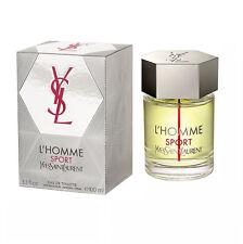 L'Homme Sport By Yves Saint Laurent 3.3/3.4oz. Edt Spray For Men New In Box