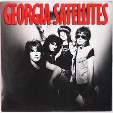 THE GEORGIA SATELLITES: Self Titled '86 Rock Elektra Vinyl LP