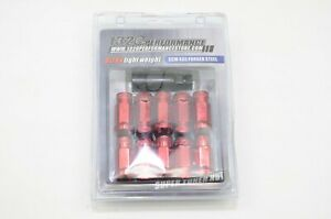 1320 Performance red 14x1.5 Steel extended lug nuts m14 20 pcs close end