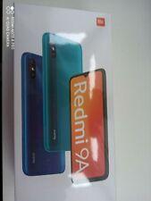 Xiaomi Redmi 9A Smartphone 32GB, 2GB RAM, Dual SIM, Peacook Green NEU