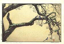 Yoshida Toshi - #015106 Jyuzu kake no Ume - Japanese Woodblock Print