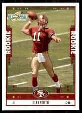 2005 Score Alex Smith QB RC Rookie #331