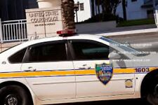 Jacksonville, Fla. Police Cruiser 1/18th Scale Waterslide Decal