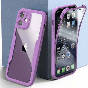 360° Silicone Front+Back Full Case Cover For iPhone 12 11 Pro Max XS XR 7 8 Plus