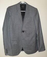 J.Crew Gray Micro Houndstooth Ludlow Youth Boy's Blazer, Size 6