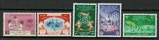 s33727 BURMA 1961 MNH  East Asia Games + UNICEF 5v
