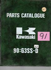 Kawasaki 1973 90 G3SS-D Parts Catalogue   #91