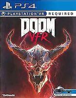BRAND NEW - FACTORY SEALED Doom VFR PlayStation 4 PS4 - Mature VR Virtual Sealed