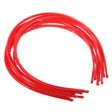 10 PCS Serre-tete bandeau cheveux accessoire fille femme plastique headband H9C4