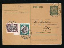 GERMANY 1934 STATIONERY HINDENBURG UPRATED...STARNBERG