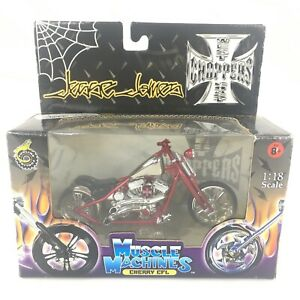 Jesse James Muscle Machines Cherry CFL Red Motorcycle