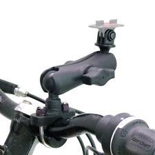 RAM Double Socket Arm & U-Bolt Handlebar Mount fits TomTom Bandit GoPro Adaptor