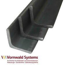 Winkel Stahl ST37 S235 gleichschenklig Winkel-Profil blank roh gewalzt Material