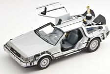 BLITZ VERSAND Back to the Future II DeLorean 2 ZEITMASCHINE Welly 1:24 NEU  (41)