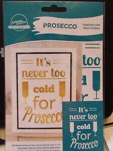 NEW! SCREEN SENSATION 5x7 PROSECCO SENTIMENT COST £12.99