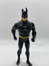 "DC Comics - Vintage 1990 Kenner BATMAN 5"" Action Figure All Black"