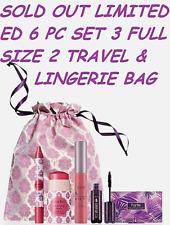 Tarte 6 PC BLUSHING BRIDE Cheek Stain Lipsurgence Lip Tint Gloss Mascara in BOX!