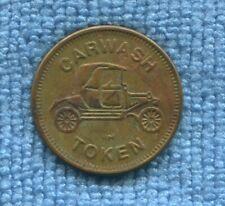 Vintage  CAR WASH TOKEN Coin Medallion Car Model T Ford E-867