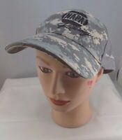 NAPA RACING STITCHED DIGITAL CAMO ADJUSTABLE BASEBALL HAT CAP PRE-OWNED ST42
