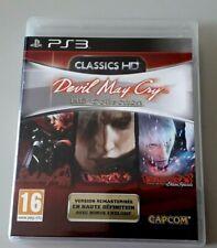 "Jeu PS 3 ""Devil May Cry HD Collection (1/2/3)"" complet en boîte (N°2755)"