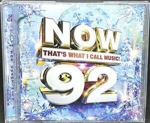 NOW THAT'S WHAT I CALL MUSIC! 92 - VARIOUS, DOUBLE CD ALBUM, (2015) NEW / SEALED