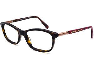 Kate Spade Eyeglasses CATRINA 006H Tortoise/Gold/Buffalo Plaid Frame 51[]15 135
