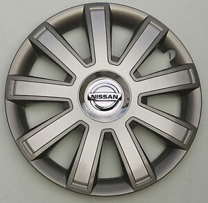"""Set of  4x 14"""" wheel trims to fit  NISSAN Micra"""
