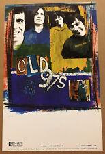 Rhett Miller Old 97's Rare 2004 Promo Poster for Drag Cd 11x17 Never Displayed