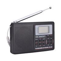 FM/AM/SW/LW/TV Sound Vollband Frequenzempfänger Radio Radiowecker
