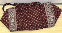 Vera Bradley Duffel Bag in Plum