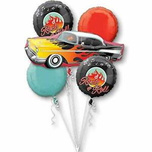 50's Rock-n-roll Bouquet Of Balloons