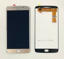 New Replacement Motorola MOTO E4 PLUS Touch Digitizer LCD Screen Assembly Gold
