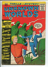 Unknown Worlds #26 - The Afterlife of Albert Ames! - (Grade 4.0) 1963