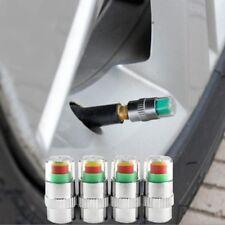 4 x Reifenwächter Ventilkappen Reifendruckventil 2,4 Bar Druckwächter aus DE PKW