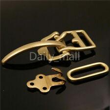 Men's Vintage Brass Littleton Cavalry Belt Buckle Leather Craft Bag Clasp Buckle
