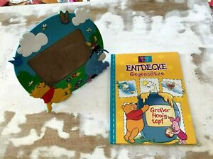 Großer Honigtopf,Kinderbuch,Winnie Puuh,Bilderrahmen,Winnie Puuh,Disney,1999