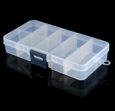 24 PACK ~  10 Compartments Plastic Jewelry Bead Organizer Container Storage Case