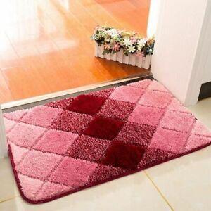Anti-Slip Bathroom Rugs Carpets Toilet Bath Floor Soft Doormat Eco-Friendly Pads