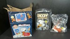 McDonalds Happy Meal Toy Snoopy Blasts Off Book #3 Launcher #8 NEW Space