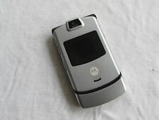 GREAT Motorola Razr V3m VERIZON Cell Phone Razor SILVER